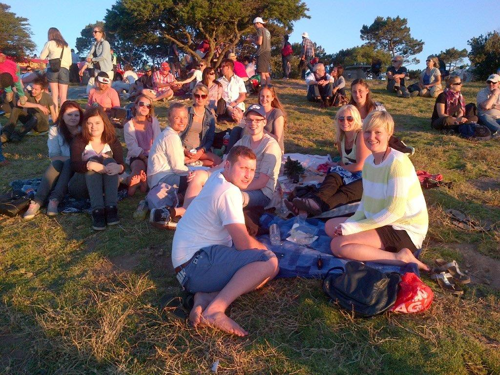 Picnic & Sunset at Signal Hill